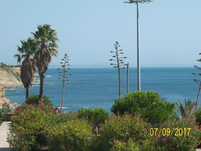 Photo for Ocean Front Apartment in Estoril Coast. 2Bed / 2Bath Apartment over the Beach