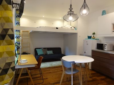 Photo for modern apartment, new, convenient, quiet and comfortable to visit Paris