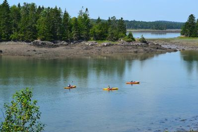 A perfect day for kayaking, explore miles of unspoiled coastline