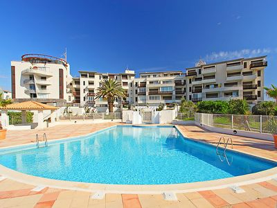 Photo for One bedroom Apartment, sleeps 6 in Le Cap D'Agde with Pool and WiFi