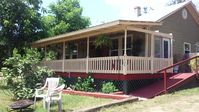 Very nice little house. Everything worked. Furniture is a little old and work. Patio was really nice