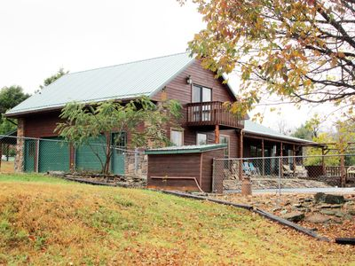 Photo for Mammy's place is an extension of Osage Creek cabins/Large pool/ Secluded.