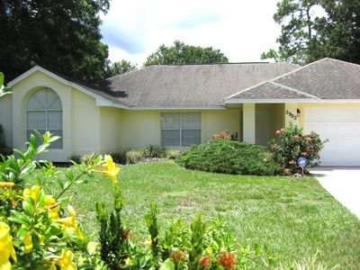 Photo for 3/4 acre lot- fort/ swing set, fully fenced - Private - NEW kitchen/ bathroom