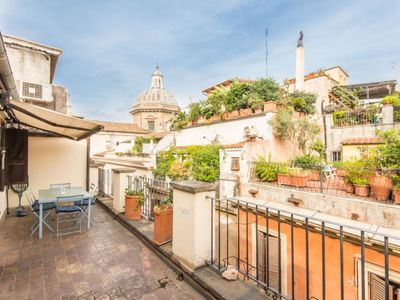 Photo for Apartment Fori Imperiali Amazing Terrace in Roma: Centro Storico - 6 persons, 2 bedrooms