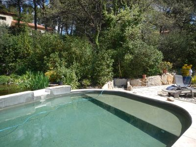 Photo for Nice T2 with swimming pool in 20 minutes of Cassis and Aix in a nice property