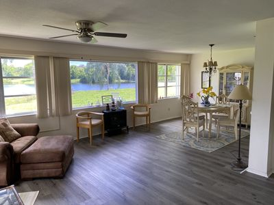 Photo for Ground floor overlooking private lake