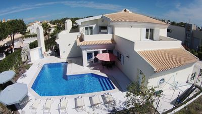 Photo for Luxury villa located at 400 meters from the beach, with pool heated
