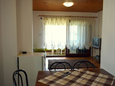 Photo for Spacious Apartment with Terrace in Dobropoljana