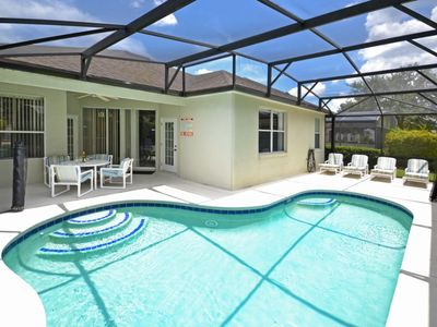 Photo for NEW LISTING - Spacious pool home in gated community of Calabay Parc at Tower Lakes