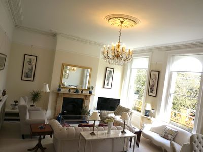 Photo for Beautiful & spacious Regency apt in centre Cheltenham, free parking