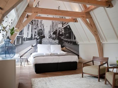 Photo for Romantic hotel suite, for up to two guests, in Amsterdam?s charming Nine Streets district.