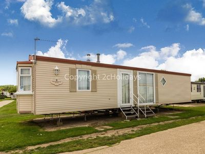 Photo for Broadland sands holiday park in Suffolk. 6 berth Caravan for hire ref 20067
