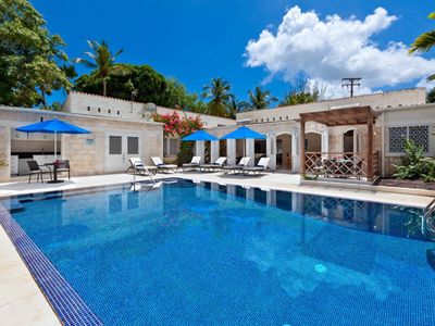 Photo for Todmorden - Beautiful 3 bedroom villa with amazing swimming pool - 5 mins from Gibbs Beach