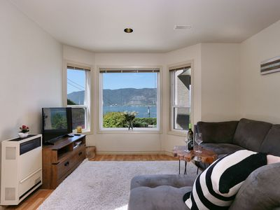 Photo for Beautiful Okanagan Center with stunning OK LAKE VIEWS just steps to the beach