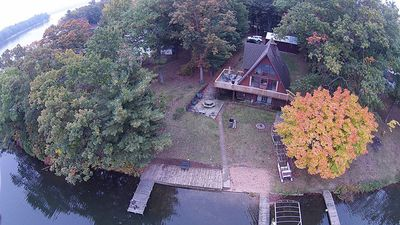 Photo for Very Spacious Upscale Cottage in a private setting on Brooks Lake