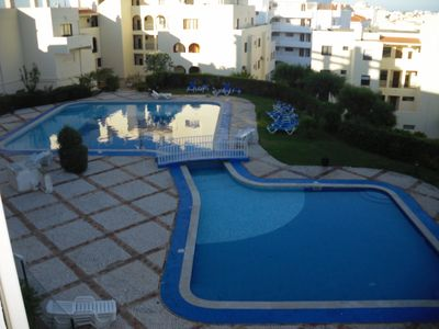 Photo for Beautiful spacious apartment T 1 in residence, sea view, pool and terrace