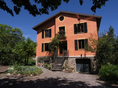 Photo for The Casa dei Cedri is located in the hills at the beginning of the Valnure