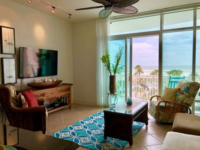 Photo for GREAT FALL RATES! ☀️NEW SAPPHIRE LUXURY CONDO AWESOME VIEWS OF THE POOL &  OCEAN