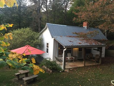 Photo for Classic Cabin: Convenient to all WNC attractions and I-40. $25 cleaning fee!