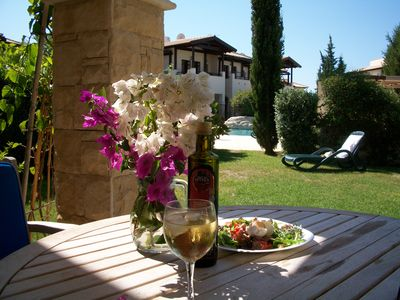 Photo for Garden Apartment on Aphrodite Hills Spa and Golf Resort, Cyprus