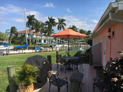 Photo for WATERFRONT Home with Dockage for up to a 50 foot boat. Treasure Coast.