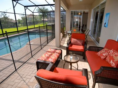 Photo for Windsor Hills Resort 5 Bed 5 Bath Pool Home