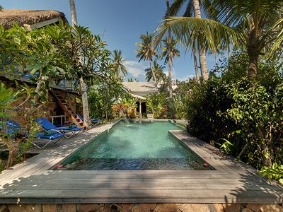 Photo for Charming 2bdr villa close from a beautiful white sand beach