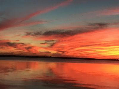 Photo for Enjoy the spectacular sunsets at our west-facing,  North Channel cottage.