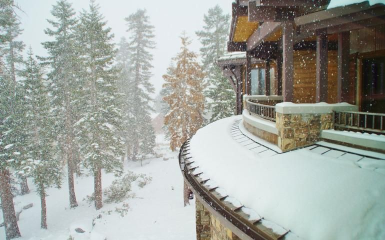 Luxury Estate Spectacular Views Ski In Ski Out Homeaway Mammoth Lakes