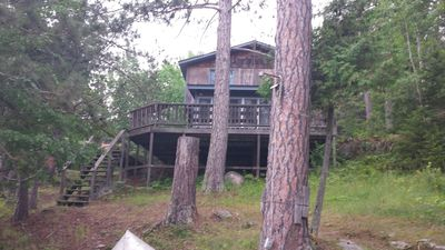 Photo for Comfy Lake Vermilion Cabin-- Pet-friendly, 3 Bedrooms