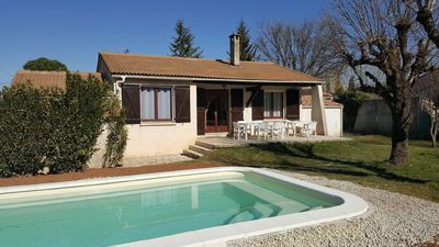 Photo for Villa 100 m2 with large garden and pool