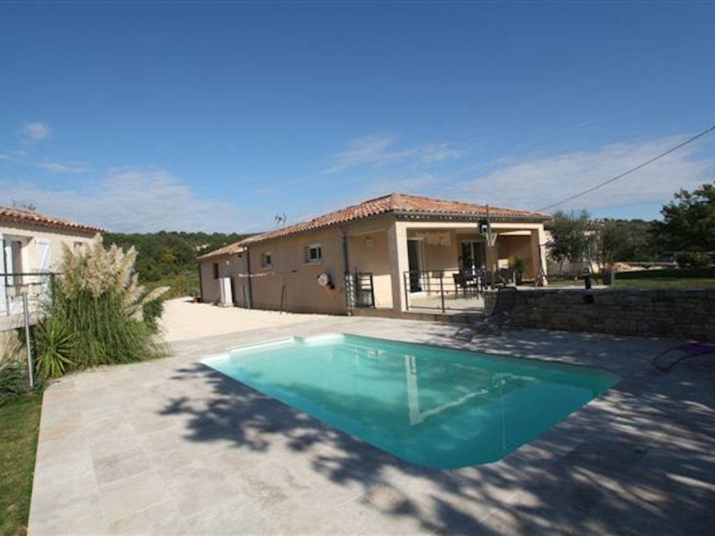 Single storey house with private pool in Ardèche provençale, Rhone ...