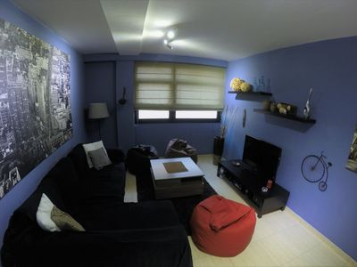 Photo for Apart modern luxury and very central, with wifi, garage and gym included