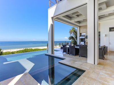 Photo for Luxurious Beachfront Vacation Dream Home | 5 Bed | 5.5 Baths | Sleeps 12