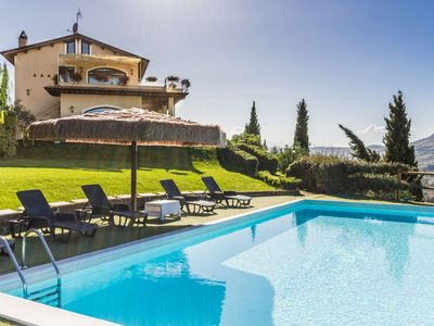 Photo for Villa Eden with panoramic pool and wonderful sea view, just 7 km from the beaches of Pedaso