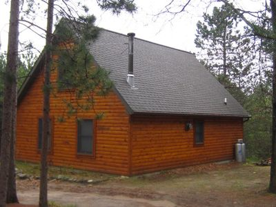 Photo for Log Cabin accommodates 8