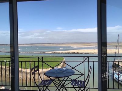 Photo for SUPERB PANORAMIC VIEW ON SEA AND MARAIS SALANTS