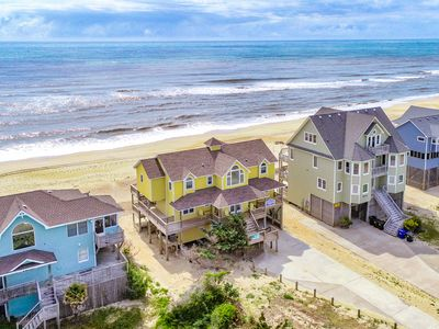 Photo for Sun's Up - Picturesque 5 Bedroom Oceanfront Home in Avon