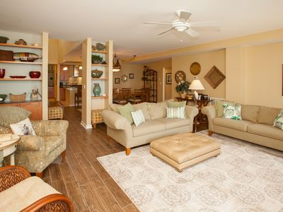 Photo for Wonderfully decorated 3 bedroom oceanside unit on the fourth floor - elevator at complex