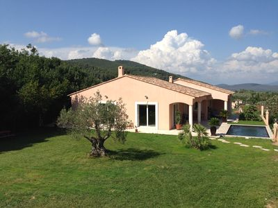 Photo for VILLA 160M2 CLIMATISEE OF FULL FEET - POOL LAND 2500M2 TO 8KM OF THE SEA
