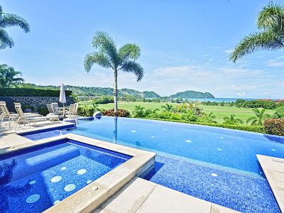 Photo for Spacious private home w/unmatched ocean & sunset views- pool & jacuzzi