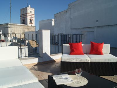 Photo for Attic Tavira, two private terraces with great views