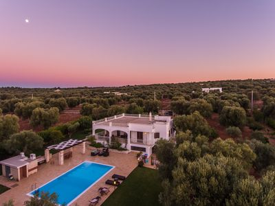 Photo for Magnificent villa with pool in the ancient olive trees of Salento near Ostuni.