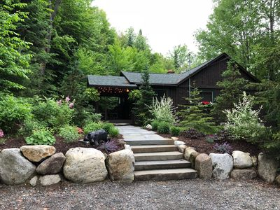 Photo for The Bear Den Classic Adirondack Cabin in the Woods Lake Placid NY