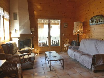 Photo for Murgiers B1 - Part of chalet for 7 people vallée des Confins