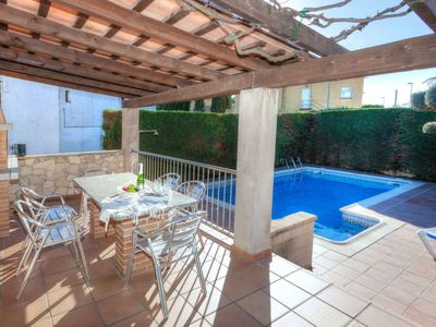 Photo for Vacation home Eva in L'Escala - 13 persons, 6 bedrooms