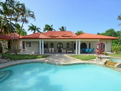 Photo for 7BD Guest-Friendly Villa with Private Pool, Jacuzzi and Billiard, near Beach!