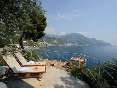 Photo for House Oliver with a breathtaking sea view on the Amalfi Coast