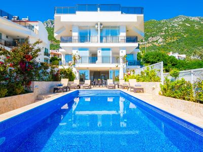 Photo for Hayal Apartment Kalkan, contempory 3 bed duplex with private pool