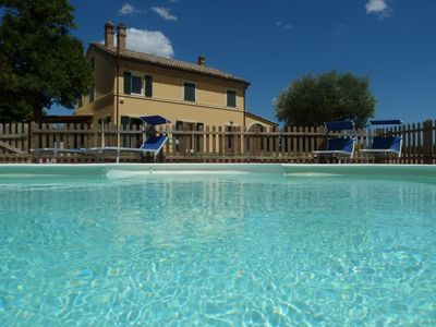 Photo for Beautiful Villa with Pool in Senigallia 9 km from the sea! Private garden
